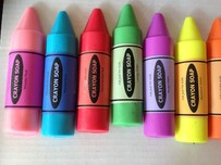 Crayon Goats Milk Soap 5 Pack