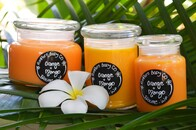Orange & Mango Candle Range