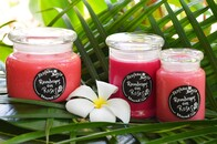 Rain Drops on Roses Candle Range